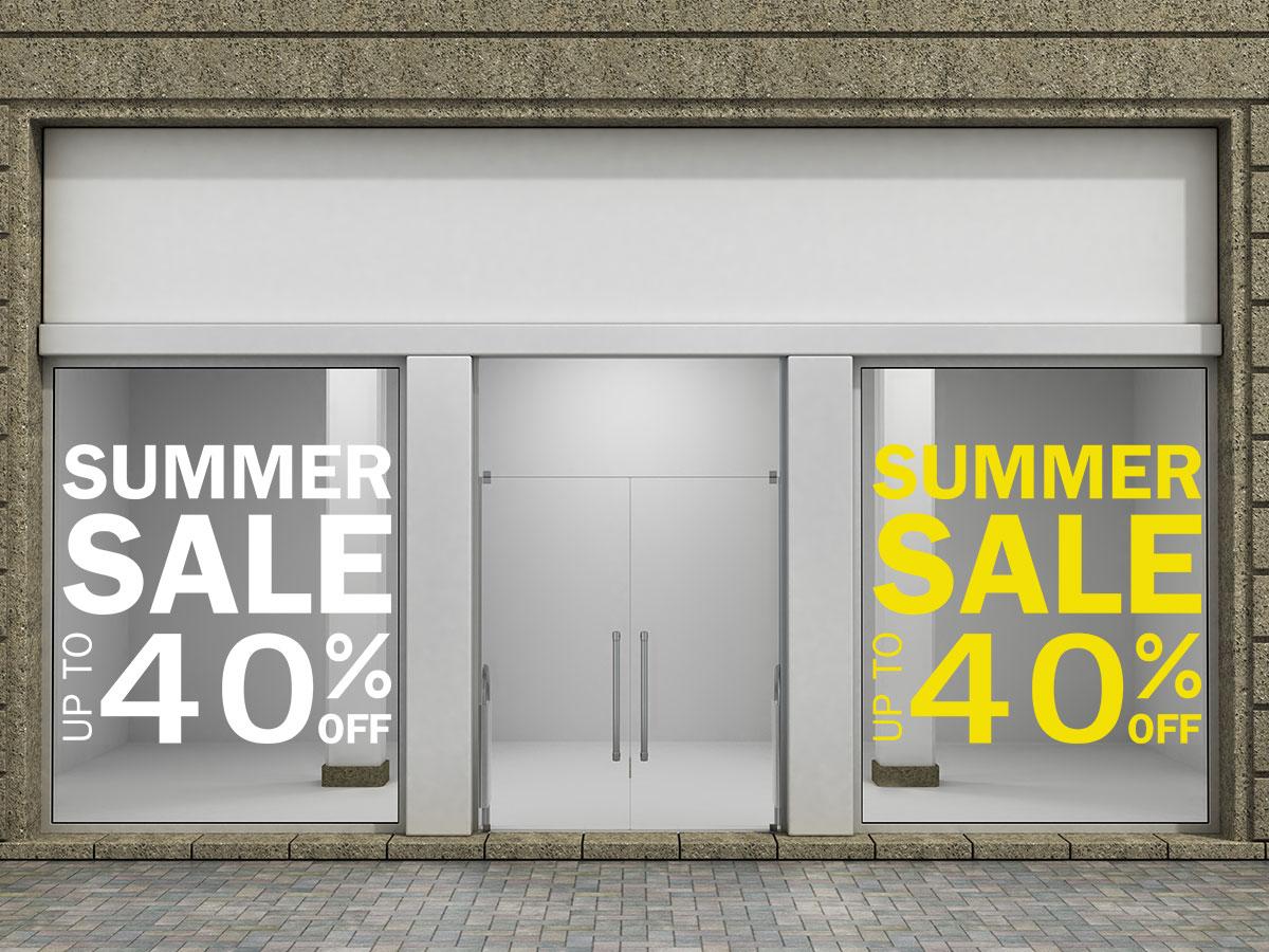 Summer Sale up to και μεγάλο ποσοστό