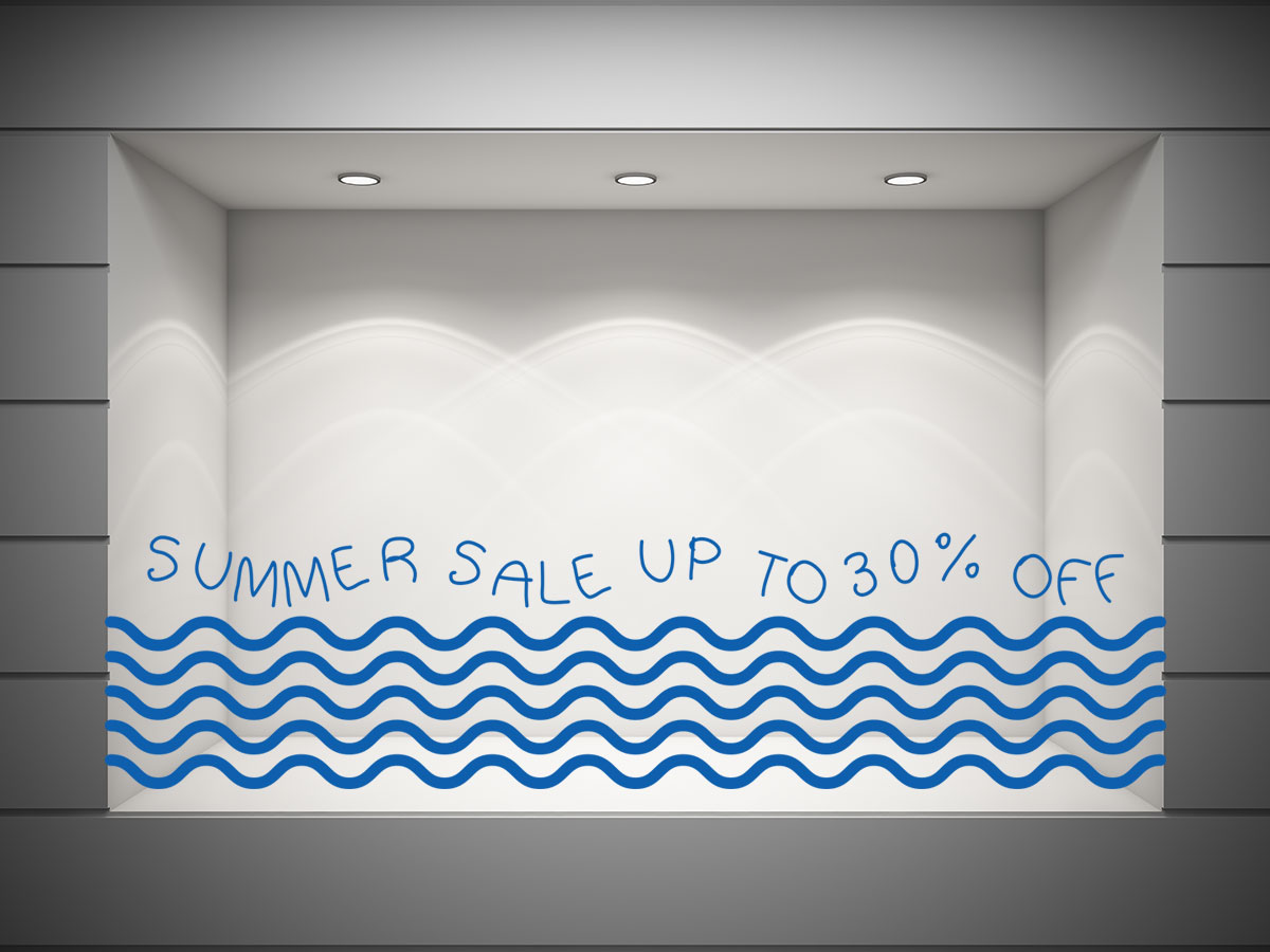 SUMMER SALE UP TO, ποσοστό και κύματα