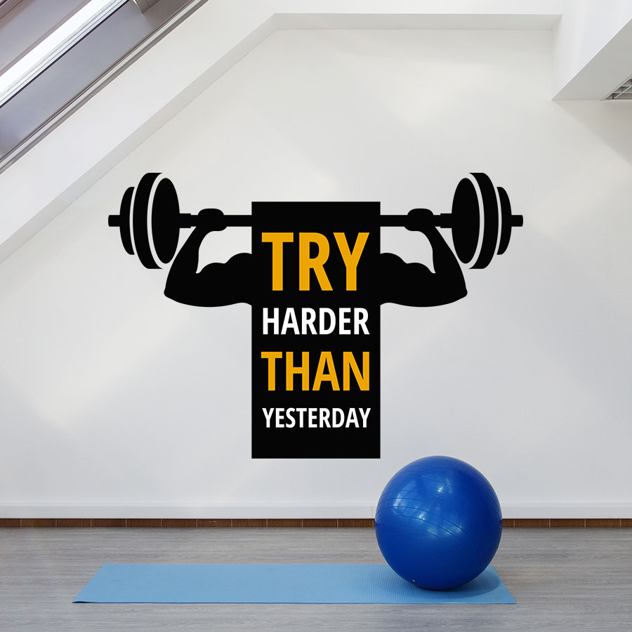 Try Harder Than Yesterday