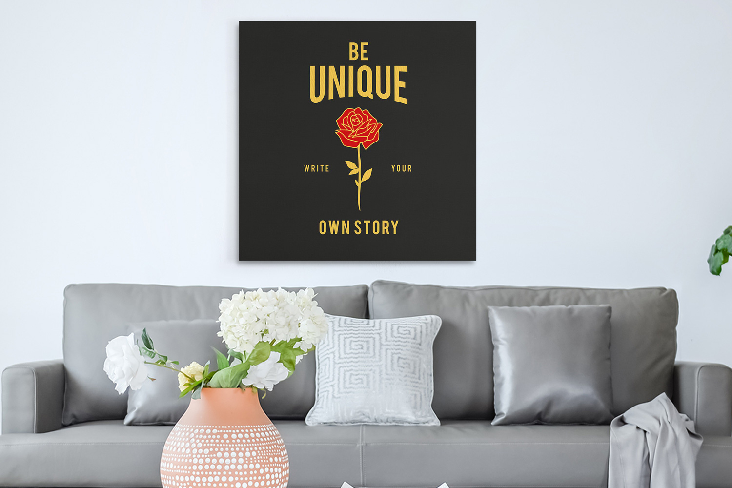 Be unique write your own story