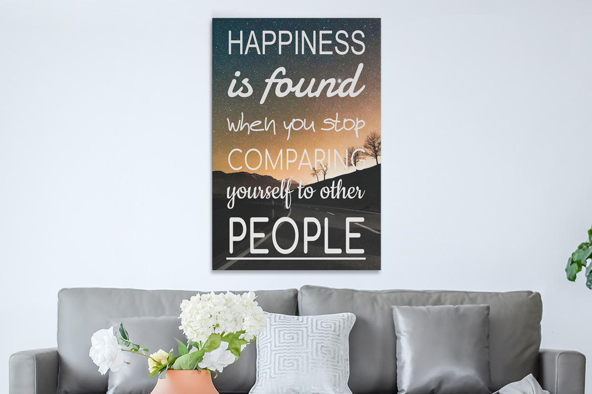 Happiness is found quote