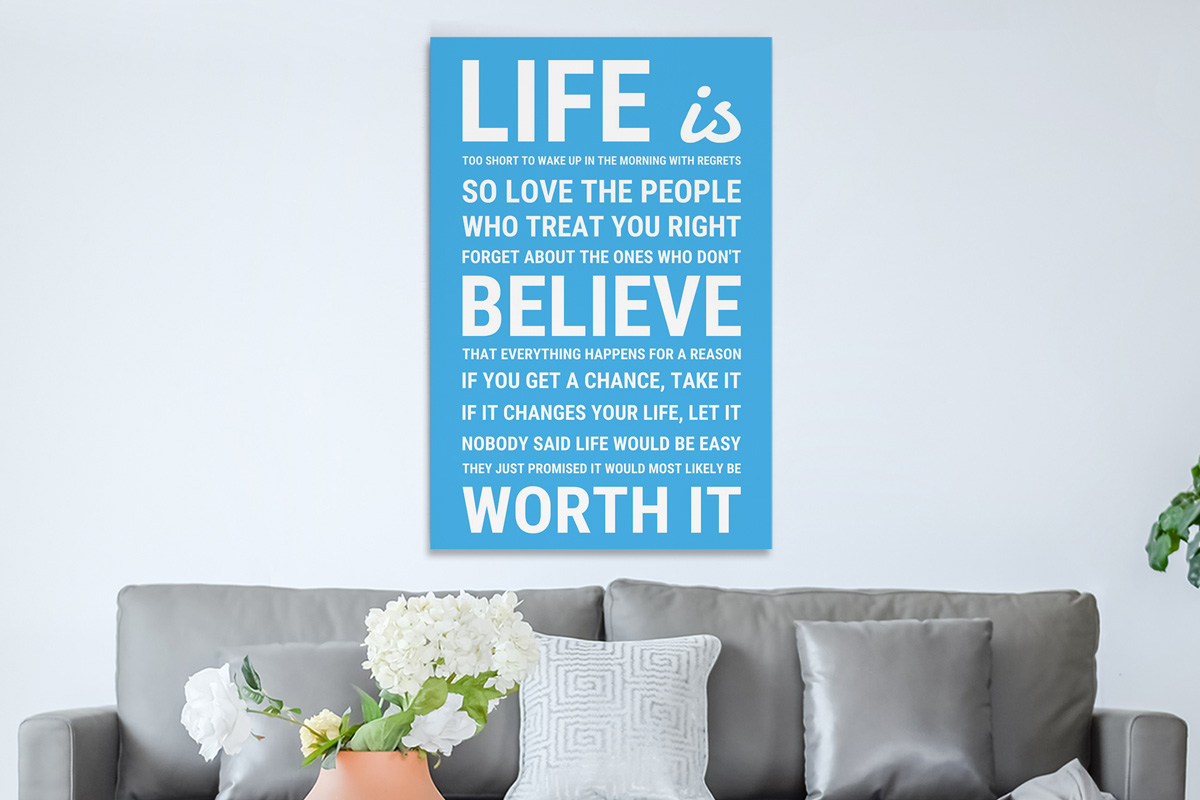 Life is quote