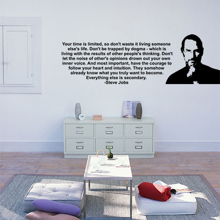 Steve Jobs, Everything else is secondary